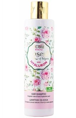 Victoria Beauty Roses and Hyaluron shampoo 250 ml. / Виктория Бюти Роза и Хиалурон шампоан 250 мл.