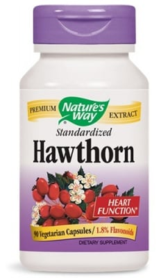 Hawthorn 465 mg 90 capsules Nature's Way / Глог 465 мг. 90 капсули Nature's Way