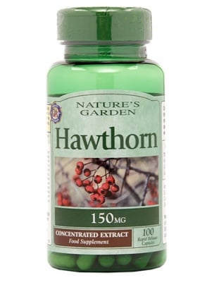 Hawthorn 150 mg 100 capsules Nature's Garden / Глог 150 мг 100 капсули Nature's Garden