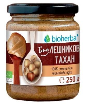 Bioherba bio hazelnut tahini 250 g / Биохерба БИО Лешников Тахан 250 гр.