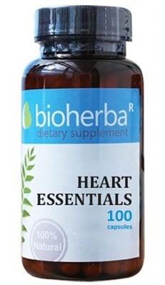 Bioherba heart essentials 100 capsules / Биохерба Формула за сърце 100 капсули