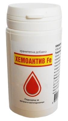 Hemoactive Fe 300 mg 40 capsules / Хемоактив Fe 300 мг. 40 капсули