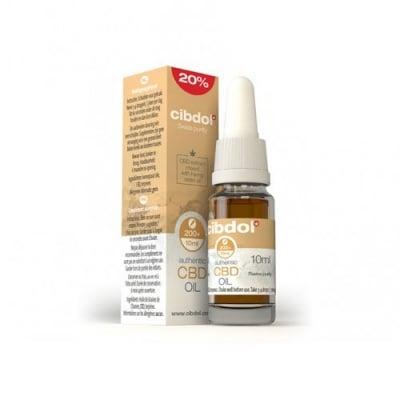 Cibdol CBD Extract 20% with Hemp Seed Oil 10 ml. / Сибдол Конопено масло с 20% Канабидиол 10 мл.