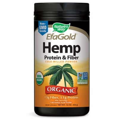 Hemp (Protein and Fiber) 454 g. Nature's Way / Коноп (Протеини и Фибри) 454 гр. Nature's Way