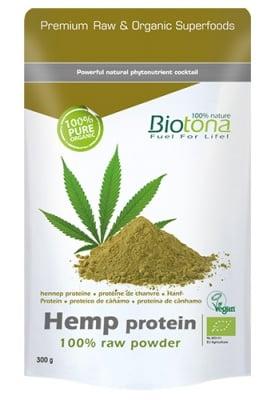 Biotоna Hemp protein 300 g / Биотона Био конопен протеин на прах 300 гр.