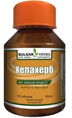 Bulgar Herbs hepaherb 120 tablets / Булгар Хербс Хепахерб 120 таблетки