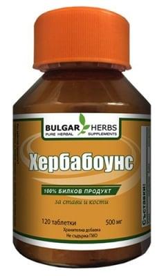 Bulgar Herbs herbabones 120 tablets / Булгар Хербс Хербабоунс 120 таблетки