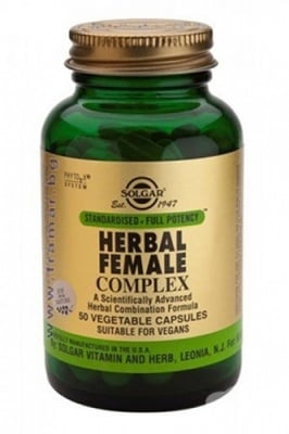 Herbal female complex 50 capsules Solgar / Билков екстракт за жени 50 капсули Солгар