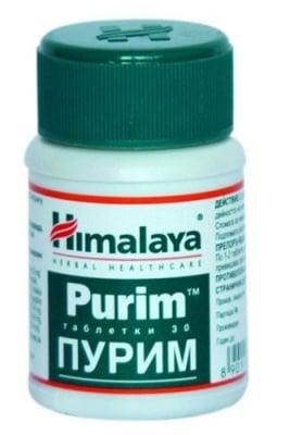 Purim 30 tablets Himalaya / Пурим 30 таблетки Хималая