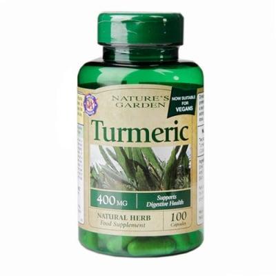 Turmeric 400 mg. 100 capsules Nature's Garden / Куркума 400 мг. 100 капсули Nature's Garden