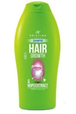 Hristina shampoo for hair growth with Hops extract 200 ml. / Христина шампоан за растеж на коса с Хмел 200 мл.