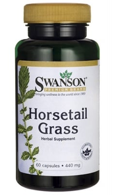 Swanson Horsetail grass 440 mg 60 capsules / Суонсън Хвощ 440 мг. 60 капсули