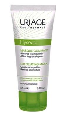 Uriage HYSEAC MASQUE GOMMANT Exfolianting Mask 100 ml. / Уриаж HYSEAC MASQUE GOMMANT Ексфолираща маска 100 мл.
