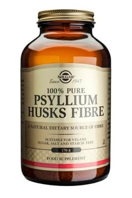 Psyllium husks fibre powder 170 g Solgar / Псилиум Фибри на прах 170 гр. Солгар