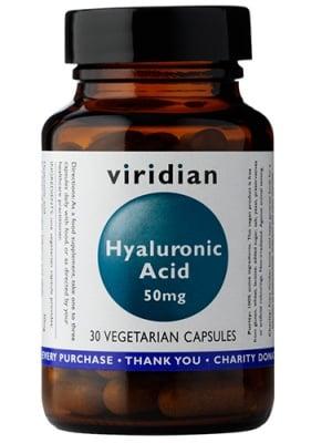 Hyaluronic acid 30 capsules Viridian / Хиалуронова киселина 30 капсули Виридиан