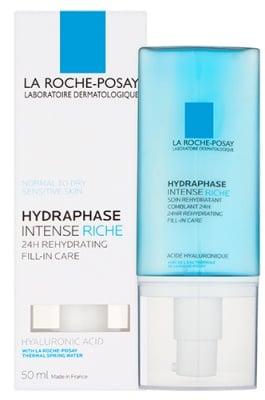 La Roche Hydraphase Intense riche Rehydrating fill-in care 50 ml. / Ла Рош Хидрафаз Хидратиращ рич крем за суха и много суха кожа 50 мл.