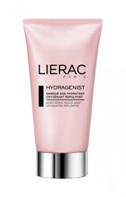 Lierac Hydragenist moisturizing rescue mask oxygenating repulping 75 ml. / Лиерак Хидраженист SOS оксидираща и уплътняваща маска за лице 75 мл.