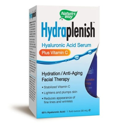 Hydraplenish plus Vitamin C serum 30 ml Nature's Way / Хидраплениш + Витамин Ц серум 30 мл. Nature's Way