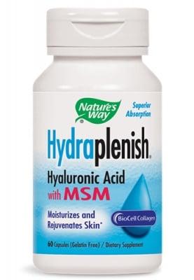 Hydraplenish + MSM 750 mg 60 capsules Nature's Way / Хидраплениш + МСМ 750 мг. 60 капсули Nature's Way