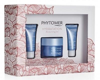 Phytomer Christmas Moisturizing set / Фитомер Коледен подаръчен хидратиращ комплект