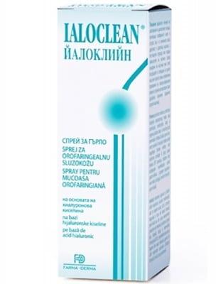 Ialoclean spray throat 30 ml. / Йалоклийн спрей за гърло 30 мл.