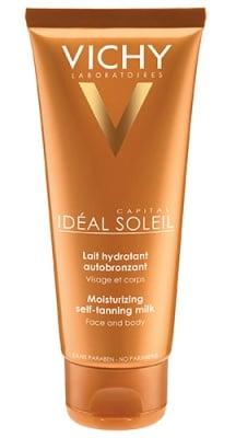 Vichy Soleil Moisturizing self-tanning milk 100 ml. / Виши Солей Автобронзиращо мляко за лице и тяло 100 мл.