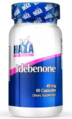 Haya Labs Idebenone 45 mg 60 capsules / Хая Лабс Идебенон 45 мг. 60 капсули