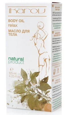Ikarov Body oil relax 125 ml. / Икаров Масажно масло релакс за тяло след спорт 125 мл.