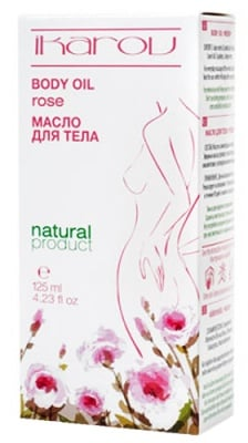Ikarov Body oil rose 125 ml. / Икаров Масажно масло за тяло Роза 125 мл.
