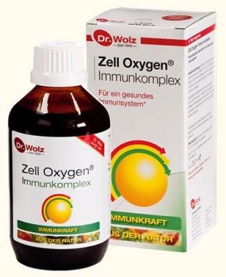 Zell oxygen immuncomplex syrup 250 ml Dr. Wolz / Цел оксиджен имуно комплекс сироп 250 мл. Dr. Wolz
