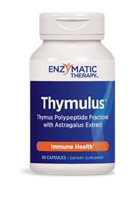 Thymulus 450 mg 60 capsules Enzymatic Therapy / Тимулус 450 мг. 60 капсули Ензиматик терапи