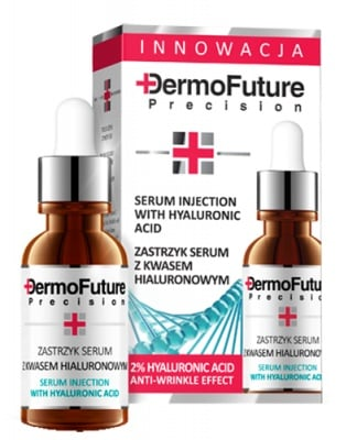 Dermofuture serum injection with hyaluronic acid 20 ml. / Дермофючър серум за лице с хиалуронова киселина 20 мл.