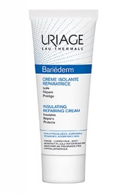 Uriage BARIEDERM Insulating repairing cream 75 ml / Уриаж BARIEDERM Изолиращ възстановяващ крем срещу външни агресии 75 мл.