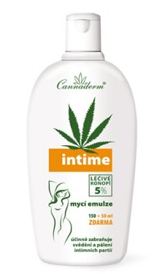 Cannaderm Intime emulsion 200 ml / Канадерм Интим емулсия 200 мл.