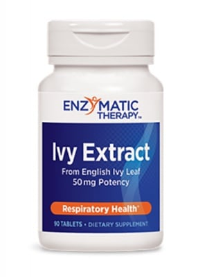 Ivy extract 90 tablets Enzymatic Therapy / Бръшлян екстракт 90 таблетки Ензиматик терапи