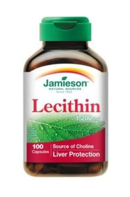 Jamieson lecithin 1200 mg 100 capsules / Джеймисън лецитин 1200 мг 100 капсули