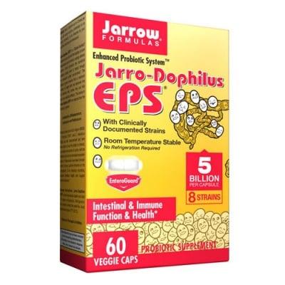 Jarrow Formulas Jarro-Dophilus EPS 60 capsules / Джароу Формулас Джаро-Дофилус ЕПС 60 капсули