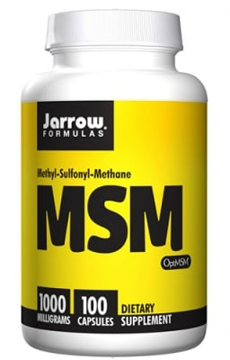 Jarrow Formulas MSM 1000 mg 100 capsules / Джароу Формулас МСМ (метил-сулфонил-метан) 1000 мг. 100 капсули