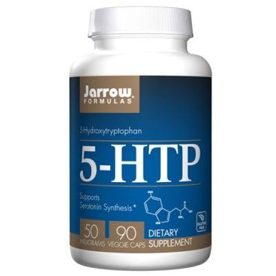 Jarrow Formulas 5-Hydroxytryptophan (5-HTP) 50 mg 90 capsules / Джароу Формулас 5-Хидрокситриптофан (5-HTP) 50 мг. 90 капсули