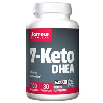 Jarrow Formulas 7-Keto DHEA 100 mg 30 capsules / Джароу Формулас 7-оксо Дехидроепиандростерон 100 мг. 30 капсули