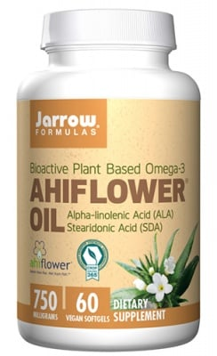 Jarrow Formulas Ahiflower oil 750 mg 60 capsules / Джароу Формулас Масло от Ахифлауър 750 мг 60 капсули