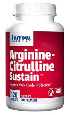 Jarrow Formulas Arginine citrulline sustain 120 tablets / Джароу Формулас Аргинин + Цитрулин Систейн 120 таблетки