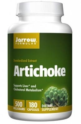 Jarrow Formulas Artichoke 500 mg 180 capsules / Джароу Формулас Артишок 500 мг 180 капсули