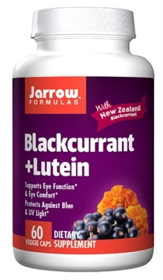Jarrow Formulas Blackcurrant + lutein 60 capsules / Джароу Формулас Касис + Лутеин 60 капсули