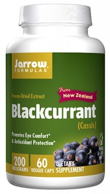 Jarrow Formulas Blackcurrant cassis 200 mg 60 capsules / Джароу Формулас екстракт от Касис 200 мг 60 капсули