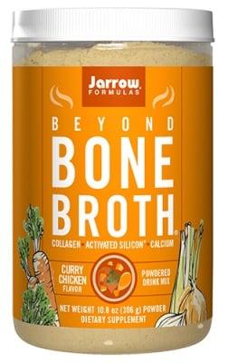 Jarrow Formulas bone broth curry chicken flavor powder 306 g / Джароу Формулас Костен Пилешки бульон с вкус на Къри прах 306 гр