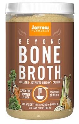 Jarrow Formulas bone broth spicy powder 306 g / Джароу Формулас Костен Телешки бульон с пикантен вкус прах 306 гр