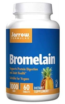 Jarrow Formulas Bromelain 1000 GDU 60 tablets / Джароу Формулас Бромелаин 1000 GDU 60 таблетки
