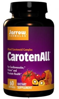 Jarrow Formulas Carotenall 60 softgels / Джароу Формулас Мулти-каротеноиден комплекс Carotenall 60 капсули