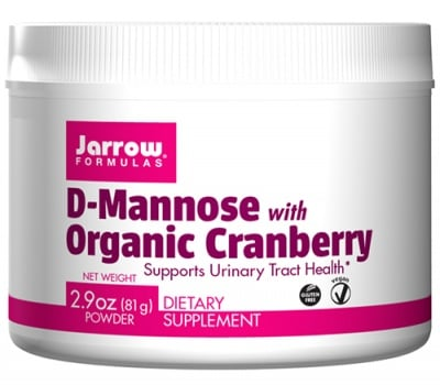 Jarrow Formulas D-Mannose organic cranberry powder 81 g / Джароу Формулас Д-маноза с органична Червена боровинка прах 81 гр.